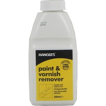 Mangers paint & varnish remover from