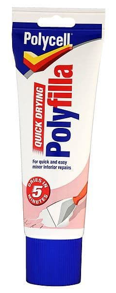 Polycell Quick drying Polyfilla tube 330gms