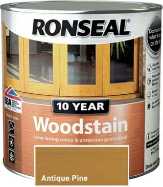 Ronseal 10 Year Woodstain Antique Pine 750ml
