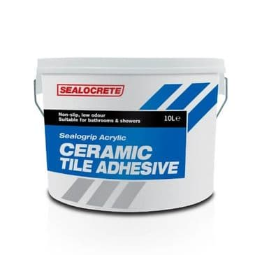 SEALOCRETE CERAMIC TILE ADHESIVE 10L