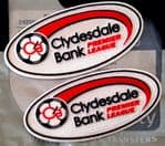 2007-2013 Scottish SPL CLYDESDALE BANK Premier League Official Player Issue Football Badge Patch Set