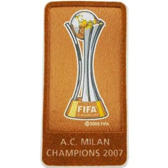 2007 AC Milan FIFA World Club Champions Official Player Issue Size Football Soccer Badge Patch