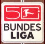 2012-13 German BUNDESLIGA 50th Annivesary Football LEXTRA Football Badge Patch
