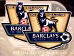 2013-14 Manchester City EPL CHAMPIONS Official Adult Replica Size Football Badge Patch Set