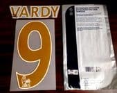 2014-15/16 Leicester City Home/Away Shirt VARDY#9 PS-Pro Sporting iD Name Number Set