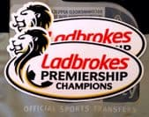 2014-18 Celtic LADBROKES SPFL Scottish Premiership Champions Official Football Badge Patch Set