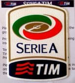 2015-16 Italian Serie A TIM Lega Calcio Official Player Issue Size Football Badge Patch