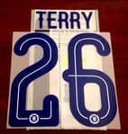 2016-17 Chelsea FA CUP & EFL CUP Third Shirt TERRY#26 Official PS-Pro Name Number Set