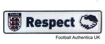 2016 & 2017 English FA WSL**Womens Super League**FA RESPECT Official Player Issue Size Badge Patch
