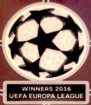 2016 Sevilla EUROPA WINNERS UCL STARBALL Official Player Issue Size Football Badge Patch