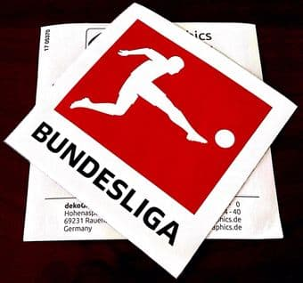 2017-22 DFB German BUNDESLIGA Official Player Issue Size Football Soccer Badge Patch