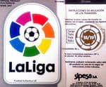 2018-19 Barcelona LA LIGA CHAMPIONS Official Football Player Issue Size Soccer Badge Patch Set