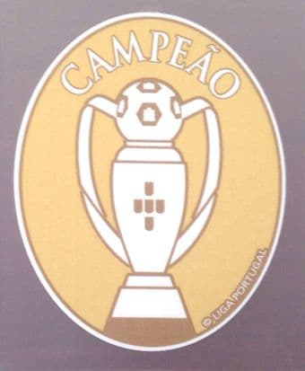 2018-19 Benfica LIGA NOS CAMPEAO CHAMPIONS Official Player Issue Size Football Soccer Badge Patch