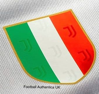 2019-20/21 Juventus SCUDETTO CHAMPIONS Official Player Issue Size Football Soccer Badge Patch