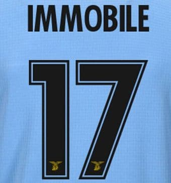 2019-20/21 Lazio 120 ANNI & UCL Home Shirt IMMOBILE#17 Official Player Issue Size Name Number Set
