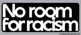 2020-21/22 FA Premier League***NO ROOM FOR RACISM***Official Player Issue Size Football Badge Patch