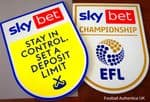 2020-21/22 Sky Bet EFL Championship Official Player Issue Size Football Soccer Badge Patch Set