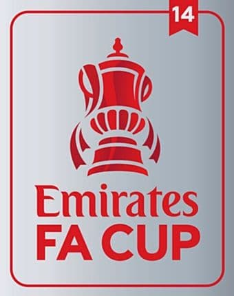 2020-21 Emirates FA CUP Winners 14**Arsenal**Official SportingiD Football Soccer Badge Patch