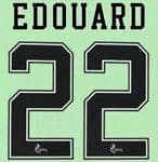 2020-22 Celtic(Glasgow) Home/Away/Third Shirt EDOUARD#22 Official Player Issue Size Name Number Set