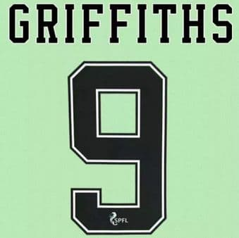 2020-22 Celtic(Glasgow) Home/Away/Third Shirt GRIFFITHS#9 Official Player Issue Size Name Number Set
