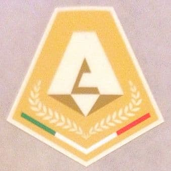 2021-22 Italian Serie A **MVP** Lega Calcio Official Player Issue Size Football  Soccer Badge Patch