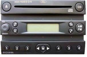 FORD 4500 4500 4500 Locked Lock Radio Code Decoding Service Unlock lock 10 AND 13
