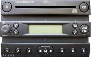 FORD 4500RDS 4500RDS 4500 RDS Locked Lock Radio Code Decoding Service Unlock lock 10 AND 13
