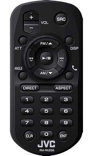 JVC KW-255DBT KW 255DBT KW 255DBT Wireless Remote Control