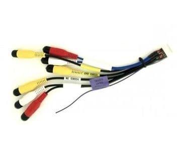 JVC KW-AVX820 KWAVX820 KW AVX820 AV lead Video in & out Camera IN Reverse Gear Signal Wire lead Plug Genuine
