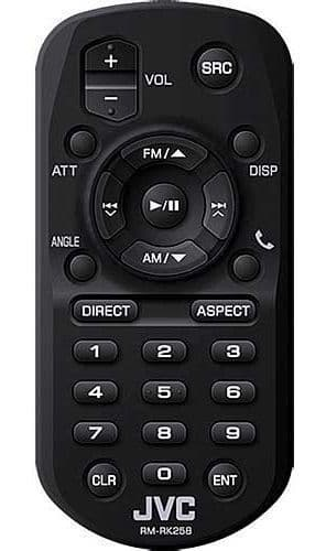 JVC RM-RK258 Wireless Remote Control RMRK258