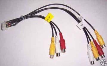 Kenwood DDX6034 DDX-6034 DDX6054 DDX7034BT DDX-7034BT AV lead Camera Lead