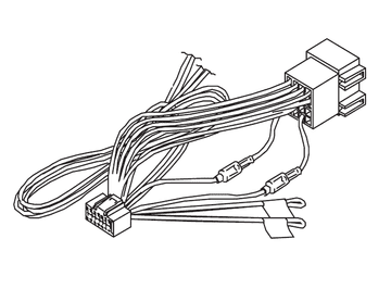 Kenwood DNN-9250DAB DNN9250DAB DNN 9250DAB Power Loom Wiring Harness Lead Cord ISO