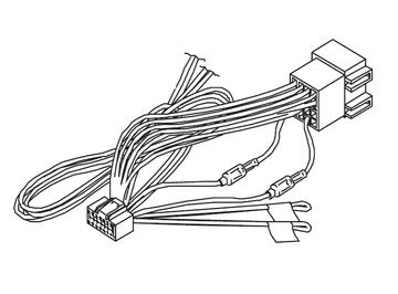 Kenwood DNN9150DAB DNN-9150DAB DNN 9150DAB Power Loom Wiring Harness Lead Cord ISO
