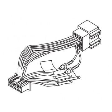 Kenwood DNX-3160BT DNX3160BT DNX 3160BT Power Loom Wiring Harness Lead Cord ISO