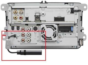 Kenwood DNX-521DAB DNX521DAB DNX 521DAB Ariel Lead Cord Plug Cable
