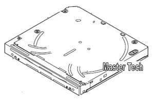 Kenwood DNX7100 DNX7200 DDX7029 DDX8019 DDX8029 DDX8039 DVD Mechanism