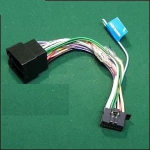 Kenwood DNX9180DABS DNX-9180DABS DNX 9180DABS Power Wiring Harness Lead ISO
