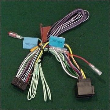 Kenwood KVT-522DVD  KVT522DVD KVT 522DVD  Power Loom ISO Lead Cord