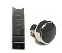 Kenwood Volume Knob Buttons & Front Faces