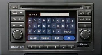 Nissan LCN Blaupunkt 7612830034 Sat Nav Radio System Lock Contact Dealer Decode Service Reset Unlock