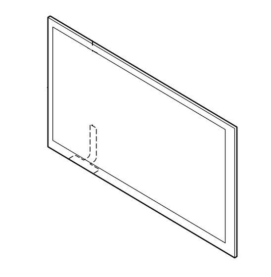 Pioneer AVH-A7100BT AVHA7100BT AVH A7100BT Touch Screen Panel Genuine spare part