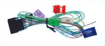 Pioneer AVH-P4450BT AVH P4450BT AVHP4450BT Power Loom Wiring Harness Lead Cord ISO