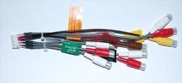 Pioneer AVH-P5900DVD AVHP5900DVD RCA Pre Out Lead PreOut input  AV