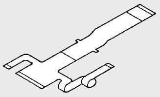 Pioneer AVX-P7300CD AVXP7300CD AVX P7300CD Ribbon Flexi Cable PCB Genuine spare part