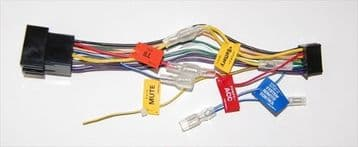 Pioneer DEH-P6600R DEHP6600R DEH P6600R Power Loom Wiring Harness lead ISO Genuines spare part