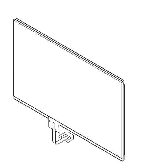 Subaru FXDA09ERPF2 86271AJ350 Touch Screen Panel Assy Genuine spare part
