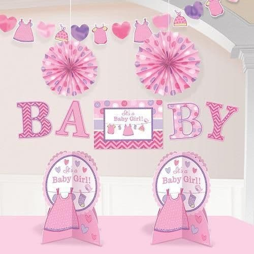 Baby Girl Room Decorating Kit