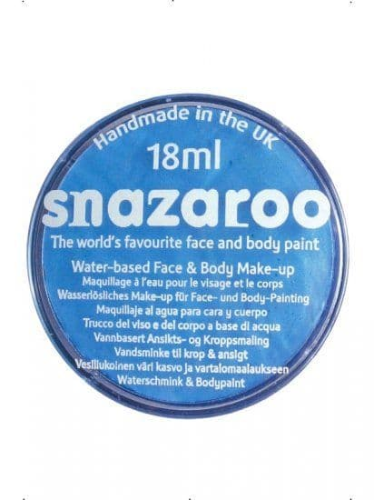Snazaroo Baby Blue Face Paint 18ml