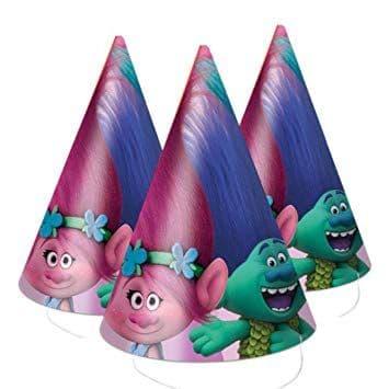 Trolls Party Hats