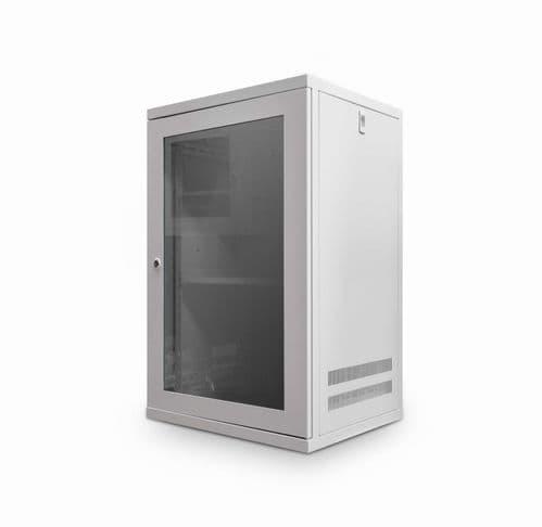 12U 450mm Deep Wall Cabinet - Grey CAB-W12U-EL450G